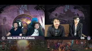 Ninjas in Pyjamas vs OG Game 2 (Bo2) | The International 2019 Groupstage