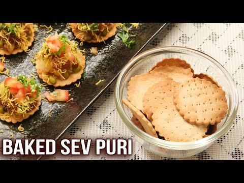 How To Make Sev Puri | Famous Street Food | Baked Sev Puri | Snacks Recipe | Ruchi