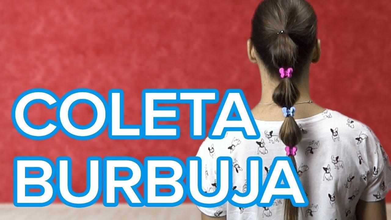 Cómo hacer una coleta burbuja | Peinados para niñas