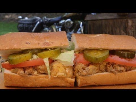 Oyster & Shrimp Po' Boy recipe by the BBQ Pit Boys