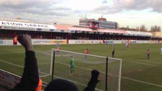 preview picture of video 'Full time whistle. Dagenham 1-2 Plymouth Argyle'