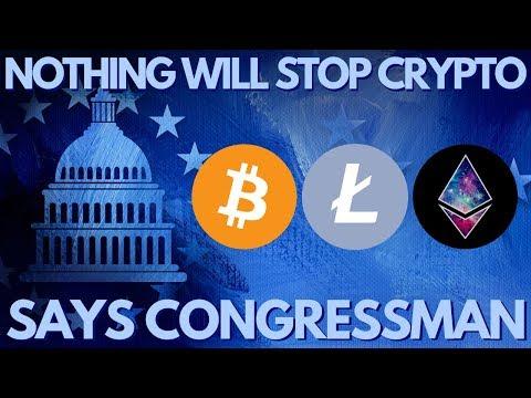 US Congressman Bullish on Crypto, Consensus 2019, Bitcoin, Litecoin, Ethereum!