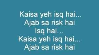 Mere brother ki dulhan-Ishq Risk (lyrics & translation) - YouTube