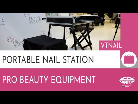 video KIT VT NAIL Complete mobile nail workstation