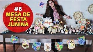 Aprenda, passo a passo, como decorar sua mesa de festa junina. Gostou? Dê Like e inscreva-se no canal Amo Festas by Pri Porto!  - INSCREVA-SE NO NOSSO CANAL: https://www.youtube.com/channel/UCE01O2N4oLxMV9BEstmG28g?sub_confirmation=1  - FACEBOOK: https://www.facebook.com/amofestas  - INSTAGRAM: https://instagram.com/amofestas