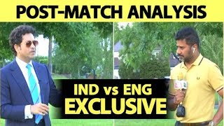 SACHIN EXCLUSIVE ON INDIA-ENGLAND: India Can Consider Jadeja in Place of Kedar | Vikrant Gupta CWC19
