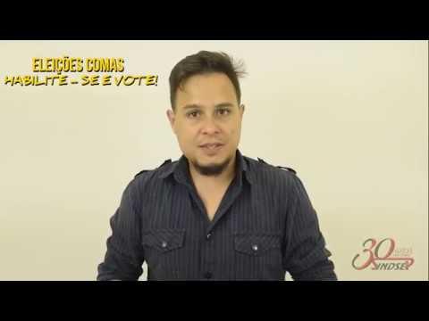 João Gabriel convida os trabalhadores/as para as eleições do Comas