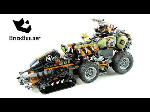 Vidéo LEGO Ninjago 70654 : Le véhicule de combat Dieselnaut