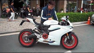 Ducati 959 Lên Pô Full System Và Gói Độ 165 Triệu !!! (akrapovic full sys panigale 959 sound)