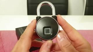 Smartelf - Wie sicher sind Vorhängerschlösser mit Fingerabdruck Sensor ❓❓❓