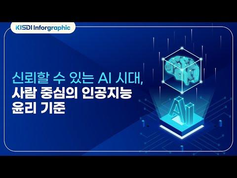 신뢰할 수 있는 AI시대, 사람 중심의 인공지능 윤리기준 동영상표지