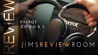Parrot Zik 2.0 & 3 Headphone - REVIEW & Comparison