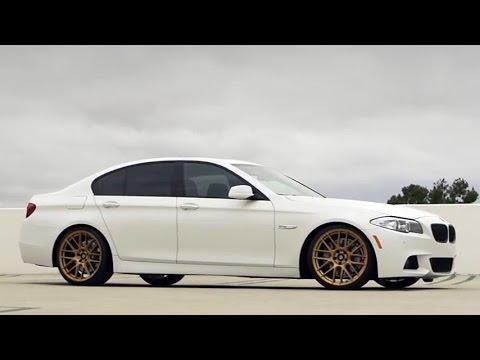 Modified BMW 550i M Sport on 20'' Lexani Wheels