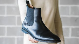 Top 6 Black Leather Chelsea Boots In 2020
