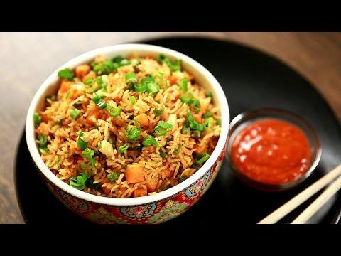Schezwan Fried Rice Recipe | Chinese Fried Rice Recipe | The Bombay Chef - Varun Inamdar