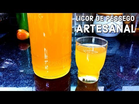 Licor de Pêssego