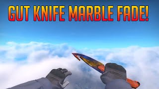 Gut Knife Marble Fade Fn видео видео