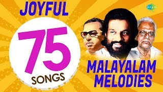 Top 75 Joyful Malayalam Melodies | K.J. Yesudas | Vayalar | Prem Nazir | One Stop Jukebox | HD Songs