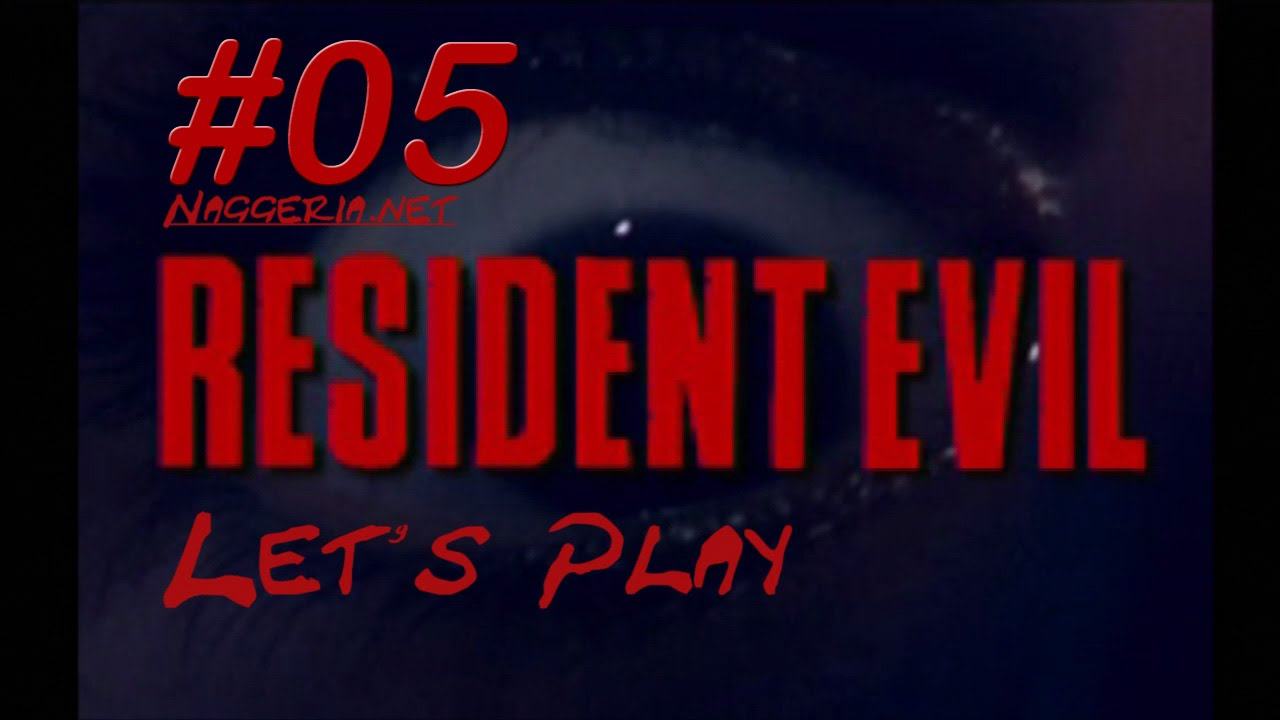 [Let's Play] Resident Evil – 05 – Der Weg zum Gartenhaus (PS1 / Chris)