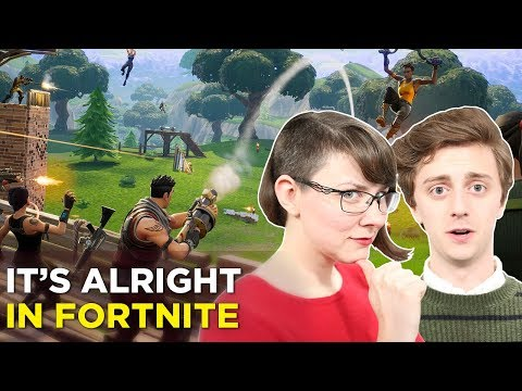 Jenna and Brian play FORTNITE