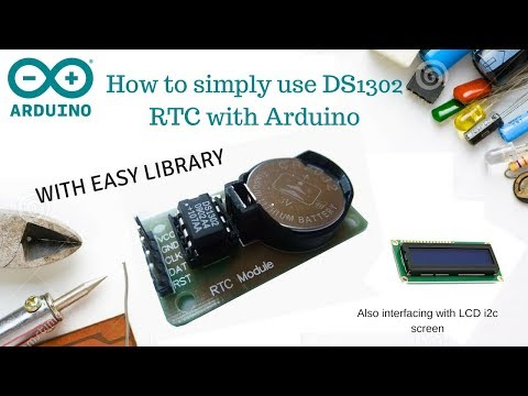 How to simply use DS1302 RTC with Arduino and LCD screen