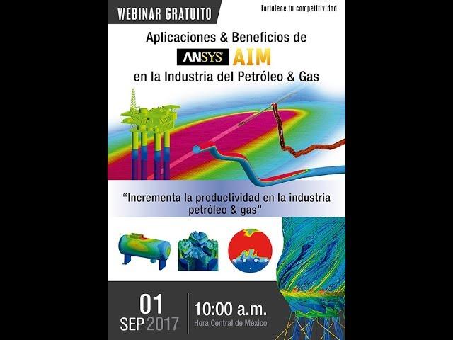 Aplicaciones & beneficios de ANSYS AIM en Industria del Petróleo