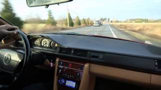 1992 Mercedes W124 300CE Coupe Ride-a-Long with Kent Bergsma