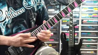 Children Of Bodom Not My Funeral  Guitar Cover