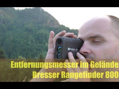 Gut & Günstig: Entfernungsmesser Bresser Rangefinder 800