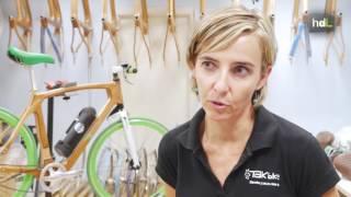 Movilidad sostenible con bicicletas de madera ecológica