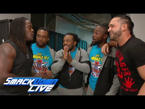 R-Truth is shaken up by a brand change: SmackDown LIVE, April 17, 2018
