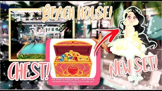 *Chests!* BEACH HOUSES + BUTTERFLY SET OUT! NEW HAIRS! | Royale High Update