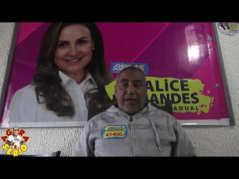 Tony do PSDB de Juquitiba agradece os votos depositados para a Deputada Analice Fernandes em Juquitiba a parabeniza o Vereador Abel da Paz pelo trabalho de Vitória no Distrito dos Barnabés