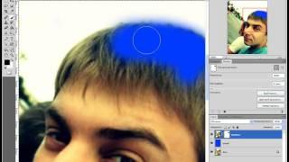 Смотреть онлайн Как изменить цвет волос в фотошопе