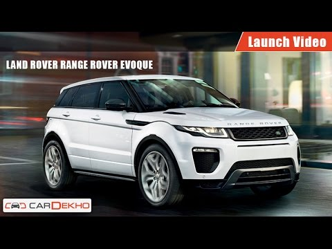 Land Rover RangeRover Evoque | Launch Video | CarDekho.com