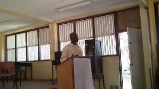 preview picture of video 'WRITER'S WORKSHOP AT BISHOP'S COLLEGE, CARRIACOU'