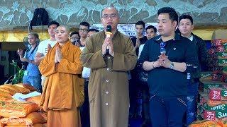 Ca Sĩ Quang Lê Cùng Thầy Ba La Mật  Làm Từ Thiện Tại Bình Thuận