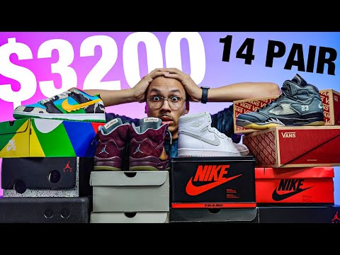 Spent $3200 On Shoes This Week For My Sneaker Collection (Sneaker Haul)