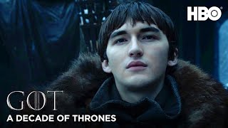 A Decade of Game of Thrones | Isaac Hempstead Wright on Bran Stark (HBO)