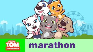 ALL EPISODES  Talking Tom And Friends Minis Marathon