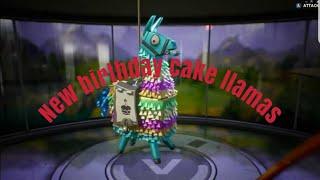 Fortnite Llama Birthday Cake 免费在线视频最佳电影电视节目 Viveos Net