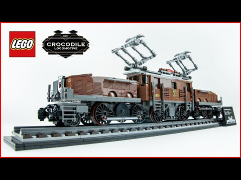 Vidéo LEGO Creator 10277 : La locomotive Crocodile