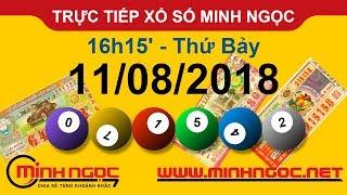 Xổ số Minh Ngọc™ Thứ Bảy 11/08/2018 - Kênh chính thức từ Minhngoc.net.vn
