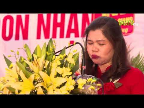Trường THPT Nhã Nam kỉ niệm 20 năm thành lập trường (Hình ảnh đài PT&TH Bắc Giang)