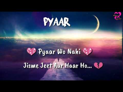 Download Heart Touching Lines Whatsapp Status In Hindi Miss U My