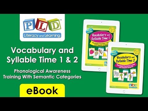 Vocabulary and syllable time 2 (eBook)