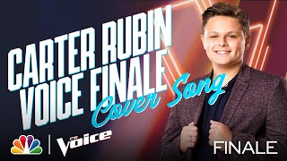 """Carter Rubin Sings the Inspirational Miley Cyrus Song """"The Climb"""" - The Voice Live Finale Part 1"""