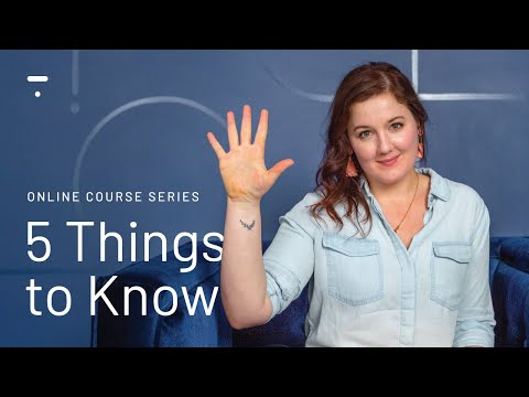 5 Things to know before making an Online Course ... - YouTube