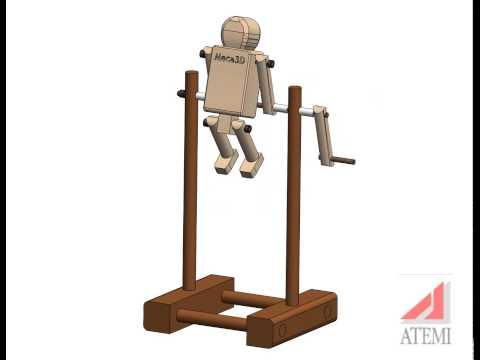 Meca3D : Gymnaste