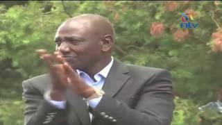 Uhuru gives Governor Ruto tongue lashing in front yard - VIDEO